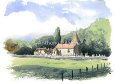 Abbey St. Bathans Old Kirk by Anthony Billings