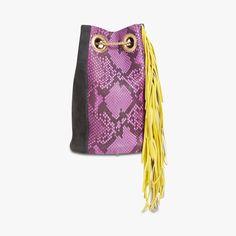 sac seau velours et python delphine delafon find this product on bon march website