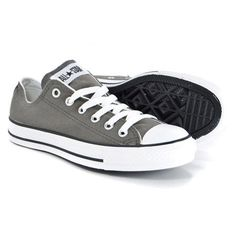 Converse Chuck Taylor Low Top Charcoal Grey Canvas New in Box for Kids 3J794 | eBay