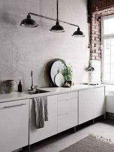 Une cuisine blanche laquée pour un style épuré