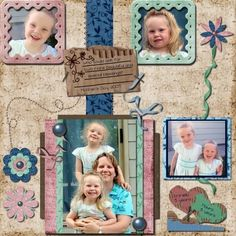 Mother's Day, digital layout by radmama_2001