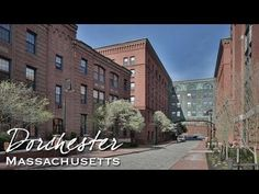 ▶ Video of Adams St Dorchester Massachusetts, Greater Boston, Bakers Chocolate, Chocolate Factory, Salisbury, My Town, Lofts, Apartment Ideas, Real Estate