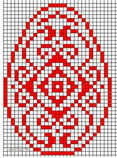 Пасха ( продолжение ). Пасхальные яички. Вышивка. фото 1 Cross Stitch Heart, Cross Stitch Cards, Cross Stitch Embroidery, Bead Loom Patterns, Square Patterns, Cross Stitch Patterns, Intarsia Knitting, Crochet Mandala Pattern, Cross Stitch Christmas Ornaments