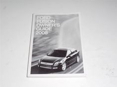 2008 Ford Fusion Owners Manual Book