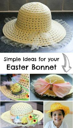 simple easter bonnet ideas to make with kids