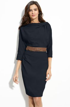 Suzi Chin for Maggy Boutique Belted Dolman Sleeve Sheath Dress, Nordstrom, $148