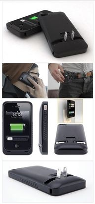 iPhone 'Case & Charge in One' #tech