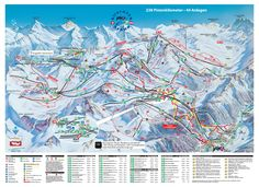 Ischgl piste map and ski area map. Details of all the runs and lifts in Ischgl, Austria from Iglu Ski Visit Austria, Austria Travel, Snow Map, Trail, Ski Mountain, Best Ski Resorts, Area Map, Best Skis, Ski Holidays