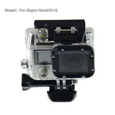 Mackertop Gopro Waterproof Case Waterproof Protective Housing Case Compatible with All GoPro Hero4 Hero3 Hero3 Cameras ** Check this useful article by going to the link at the image.