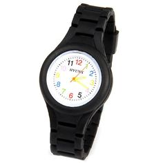 HYUNX Children Watch with 12 Arabic Numbers Indicate and Silica Gel Band Silica Gel, Stylish Watches, Sammy Dress, Watches Online, Digital Watch, Fashion Watches, Bracelet Watch, Band, Numbers