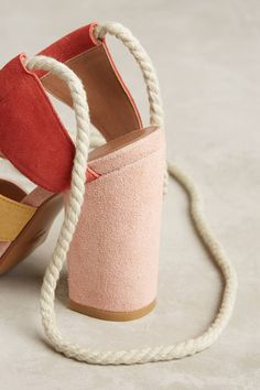 Slide View: 4: Bettye Calypso Lace-Up Heels