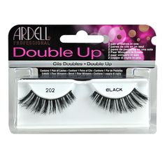 Ardell 47115-202 Double Up Lashes (Pack of 4) -- Continue to the product at the image link.