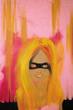 Katja Tukiainen, Bambi was a boy, oil on canvas, 2008 Bambi, Oil On Canvas, Disney Characters, Fictional Characters, Aurora Sleeping Beauty, Portraits, Paintings, Illustration, Art