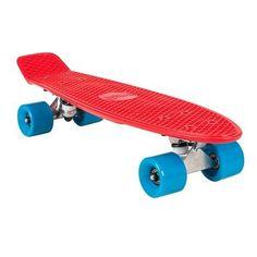 Deskorolki, surfing na asfalcie Rolki, Hulajnogi, Deskorolki - Fishboard plastikowy TOY czerw TEMPLAR - Deskorolki, Wavboardy