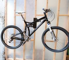 Steel wall rack to store and display your bike