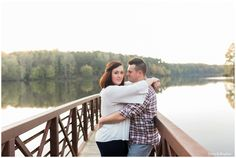 Engagement photos at Umstead State Park in Raleigh, North Carolina | www.storyandrhythm.com