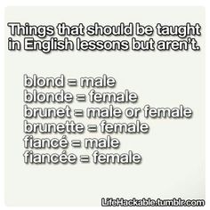 it's because they're french words, and adding e or doubling the last consonant and adding e is usually the way to make a word feminine