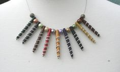 nespresso spiral pendant necklace