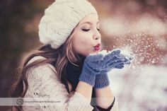 Snow Fairytale, Senior Photo Session Part 2 || Boutique Senior Photographer, Seattle » Katerina Fortygin Photography and Design