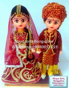 Cute wedding Dolls.... .