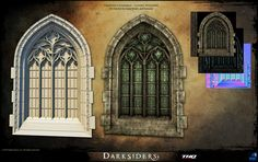 Darksiders environment assets