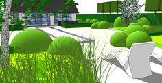 Viridis Tuinarchitectuur Landschapsarchitectuur Tuinaanleg > Projecten > 3D ontwerpen