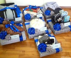 Gift trays using gift boxes from BudgetNistaChic