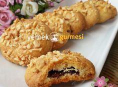 Fındıklı Biskrem Kurabiye - http://www.yemekgurmesi.net/findikli-biskrem-kurabiye.html