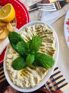 Salată libaneză de vinete Hummus, Ethnic Recipes, Food, Essen, Meals, Yemek, Eten