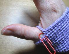 Cómo tejer mitones a medida con ganchillo: 22 pasos