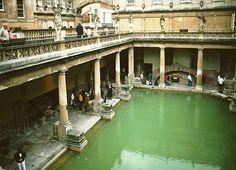 Roman Bath, Bath England