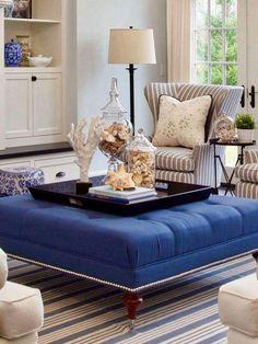 The Hamptons, Ottoman, Chair, House, Furniture, Home Decor, Decoration Home, Home, Room Decor