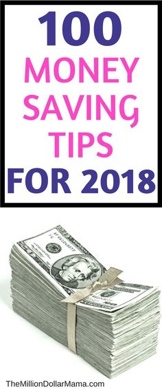 The best frugal living money-saving tips for 2018 - pinning this to refer back to!