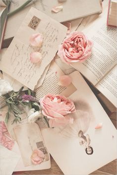 love letters and roses