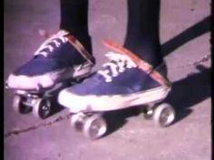 Brand New Key,  pair of roller skates