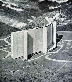 polychroniadis:        Unrealized project for 5,700 apartments by Oscar Niemeyer.