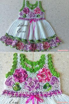 Детское платье - Вязание для детей - Страна Мам