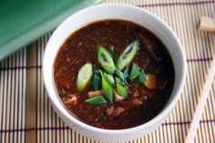 Hot and Sour Soup: Fake-Out Take-Out from MyLifeasa Mrs.com. Good copycat of P.F. Chang's hot & sour soup!