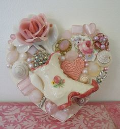 Shabby Heart! by vintagedragonfly, via Flickr