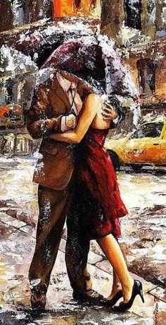Emerico Toth Lady in red