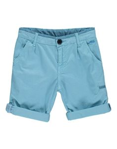 LITTLE MARC JACOBS Boys Light Blue Bermuda Shorts | TILLTWELVE