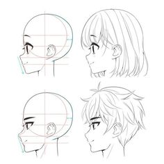 Manga Drawing Tutorials (Anime Drawings) - Page 2 of 2 - Manga Drawing Tutorials, Manga Tutorial, Sketches Tutorial, Drawing Tips, Drawing Hair Tutorial, Male Drawing, Anatomy Tutorial, Anime Drawings Sketches, Anime Sketch