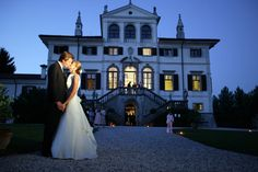 Villa Deciani Italian Wedding Venues. A gorgeous old style mansion is a perfect location for any wedding.