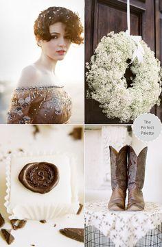 Fabulous ideas for the rustic wedding! #belloria #rusticweddings #weddings