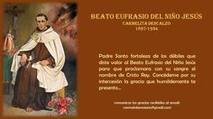 Beato Eufrasio del Niño Jesús, mártir Carmelita Descalzo