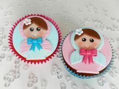 How cute Babushka Cupcakes