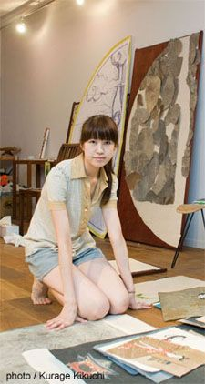 Using Bezier curves, Chiho Aoshima creates extraordinary worlds populated with ghosts, zombies, and teenage girls. Japanese Contemporary Art, Artist Studios, Pop Surrealism, Work Spaces, Vincent Van Gogh, Pinterest Board, Artist At Work, Asian Art, Artsy Fartsy