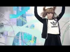 KPP appears on a TV CM of adidas