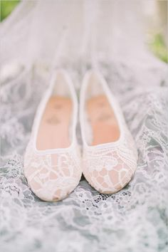 #laceflats #pretty #white