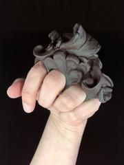 Baroque Design, Small Sculptures, Black Jewelry, Swirls, Floral, Gifts, Art, Color, Art Background